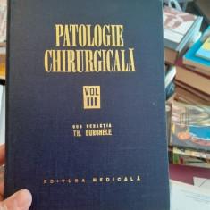 Patologie chirurgicala, vol. 3 – Th. Burghele