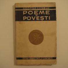 Poeme si povesti - George Cosbuc Editura Librariei Socec S.A. 1923