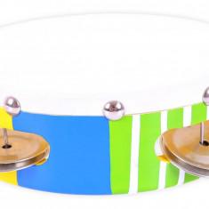 Tamburina colorata, 18 cm diametru, 3 ani+