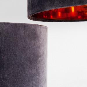 Lampadar Lemming Tree - bumbac - negru/auriu