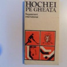 HOCHEI PE GHEATA , REGULAMENT INTERNATIONAL , 1983