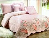 Cuvertura de pat + 4 Fete de Perna - Pat 2 Persoane - 100% Bumbac - E-S24