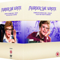Film Serial Murder She Wrote / Verdict Crima DVD BoxSet Complete Collection
