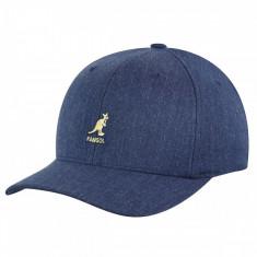 Sapca Kangol Wool Flexfit Baseball Denim (Masuri: S/M si L/XL) - Cod 9989