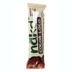 Baton Raw Cocoa Loco Paradisul Verde 30gr Cod: 5060088701201