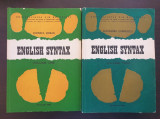 ENGLISH SYNTAX - Serban, Cornilescu (2 volume)
