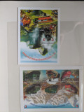 Ciad - Timbre trenuri, locomotive, cai ferate, nestampilate MNH, Nestampilat