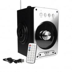 Boxa Bluetooth Portabila Karaoke Radio FM, TF, MP3, USB