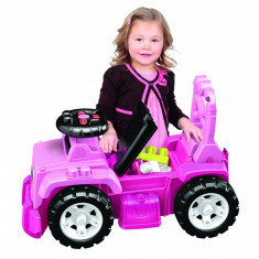 Masina Mega Bloks Jeep Ride-On 3 in 1 violet