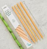 Cumpara ieftin Pai din bambus pentru baut, set 4 bucati