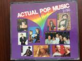 Actual pop music 2/90 dublu disc 2 cd compilatie 1990 muzica pop disco various