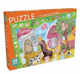 Puzzle Recunoastere Ferma, 35 piese, Noriel