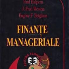 paul halpern finante manageriale