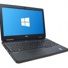 Laptop Dell Latitude E5540, Intel Core i5 Gen 4 4300U 1.9 GHz, 4 GB DDR3, 128 GB SSD NOU, DVDRW, WI-FI, Bluetooth, WebCam, Tastatura Iluminata, Displa