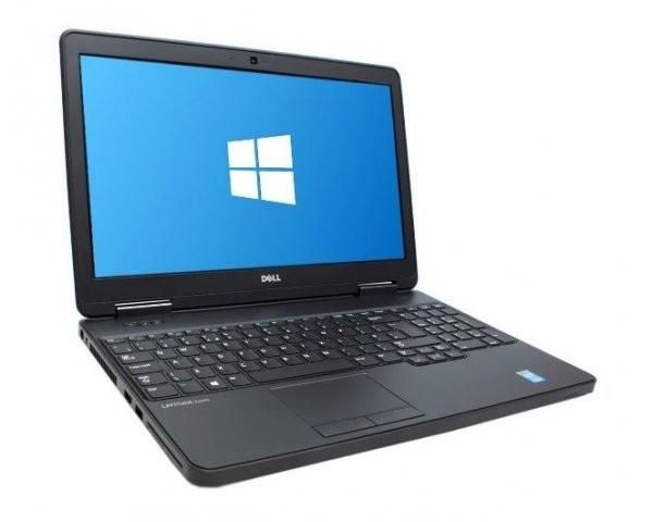 Laptop Dell Latitude E5540, Intel Core i5 Gen 4 4300U 1.9 GHz, 4 GB DDR3, DVDRW, WI-FI, Bluetooth, WebCam, Tastatura Iluminata, Display 15.6inch 1920