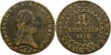 1812 S (Schmolinitz), 1 kreutzer - Francisc al II-lea - Imperiul Habsburgic!