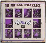 10 metal puzzle purple