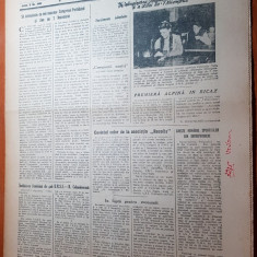 Sportul popular 12 octombrie 1954-art.despre echipa de fotbal CCA (steaua),moto