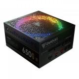 Sursa Astrape P1 Gold 650W iluminare RGB, certificata 80 PLUS, eficienta 90%