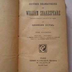 Oeuvres Dramatiques De William Shakespeare Iv - Georges Duval ,267091