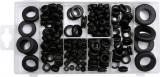 Set de garnituri cabluri 180 bucati YATO
