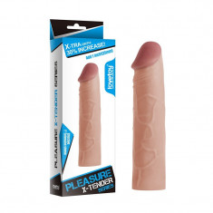 Extensie penis Pleasure X-Tender + 2,5 cm