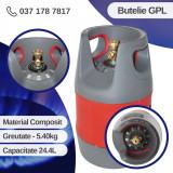 BUTELIE GAZ GPL 24.4 L, MATERIAL COMPOZIT, 5.40 KG, CEHIA, ELEFANT
