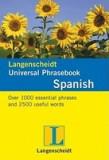 Langenscheidt Universal Phrasebook: Spanish