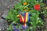 Cumpara ieftin brau mare tricolor, brau tesut manual, brau tesut la razboi, curea handmade