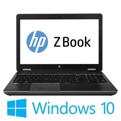Laptop Refurbished HP ZBook 15 G2, i7-4810MQ, 500GB SSD, Win 10 Home foto