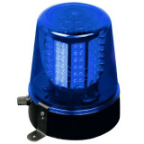 Girofar Ibiza pentru petreceri, 360 grade, alimentare 220 V, albastru
