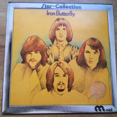 IRON BUTTERFLY - STAR COLLECTION (1973,WEA,UK) vinil vinyl
