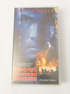 Caseta video VHS originala film tradus Ro - Focul din Adancuri