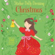 Little Sticker Dolly Dressing Christmas - Carte Usborne (4+)