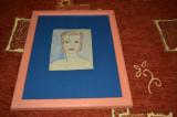 tablou desen chip de fata