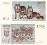 LITUANIA 500 talonu 1993 UNC!!!