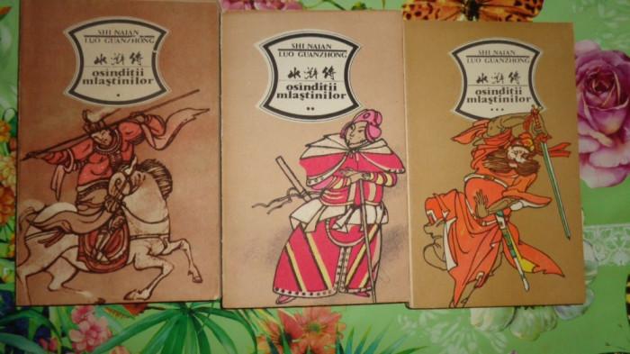 Osanditii mlastinilor 3 volume -Shi Naian