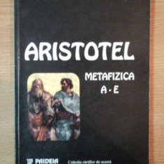 METAFIZICA A-E de ARISTOTEL , 1998