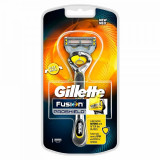 Aparat de ras Gillette Fusion Proshield, 4 lame, benzi lubrifiante