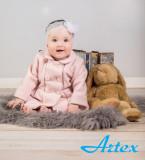 Pardesiu pentru fetite - Pink (Marime Disponibila: 9 luni)