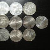 Colectie monede argint Germania 10 marci - III, Europa