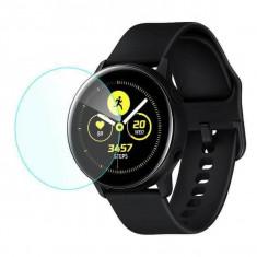 Folie sticla Samsung Galaxy Watch Active, Tempered Glass, protectie Smartwatch