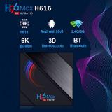 Cumpara ieftin Media player TV Box H96 Max H616 Android 10, 4GB RAM, 32GB ROM Mini PC 6K Netflix HBO