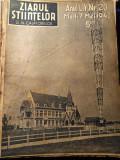 Lot 5 reviste vechi - Ziarul stiintelor si al calatoriilor - anii 1940 1941