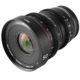 Obiectiv manual Meike 50mm T2.2 Cine pentru Sony E-Mount