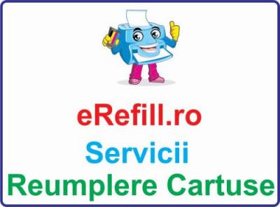 Reumplere cartus HP 302XL F6U67AE Color foto