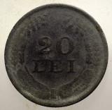 1.749 ROMANIA WWII 20 LEI 1942 ZINC