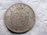 Moneda argint 500 lei 1944 aunc 1