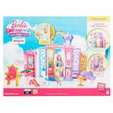 Casuta Barbie pliabila, castelul printesei bomboanelor, Dreamtopia, 36 cm