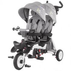 Tricicleta Gemeni 2Fun 2019 Grey, Chipolino